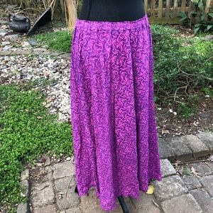 Go Fish pink maxi skirt size small